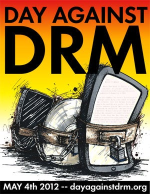 """Illustration for article titled Today is """"International Day Against DRM"""""""