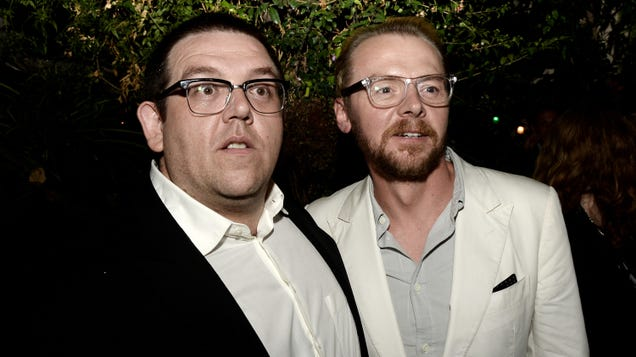 Simon Pegg and Nick Frost working on TV adaptation of fantasy series Rivers Of London