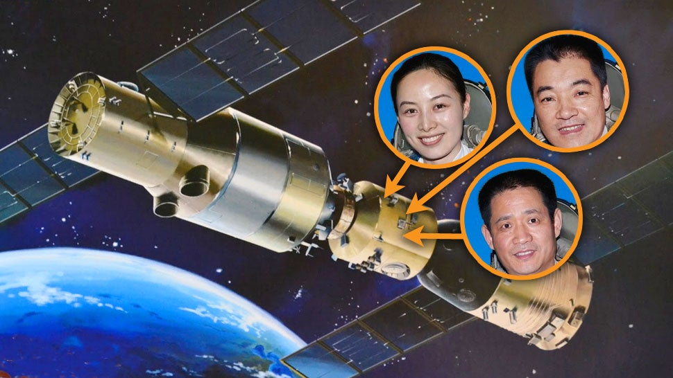 Chinese Taikonauts Head For China's First Space Station Today