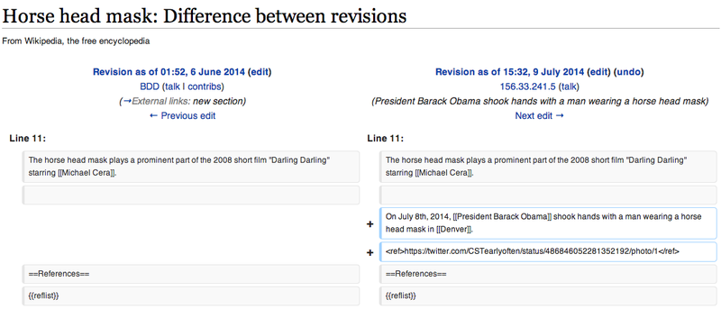 Illustration for article titled Tracking the Bizarre Edits Congress Makes to Wikipedia