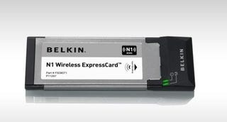 Illustration for article titled Belkin Shows Us Some ExpressCard Love with N1 Card