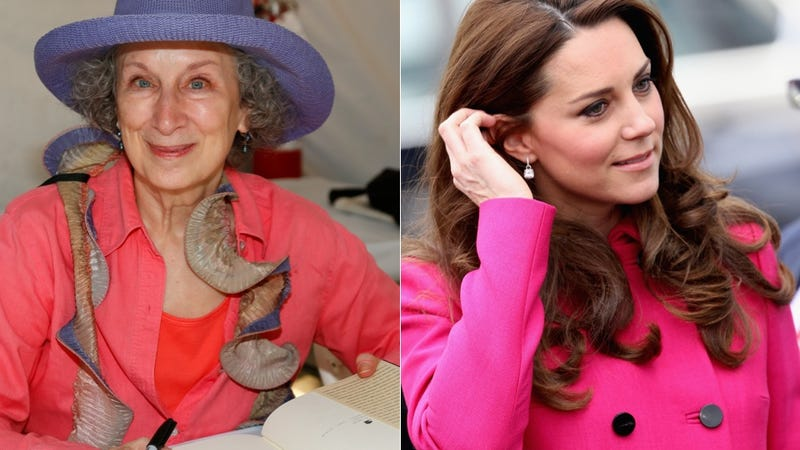 Illustration for article titled Margaret Atwood Finds Kate Middleton's Style 'Uneventful'