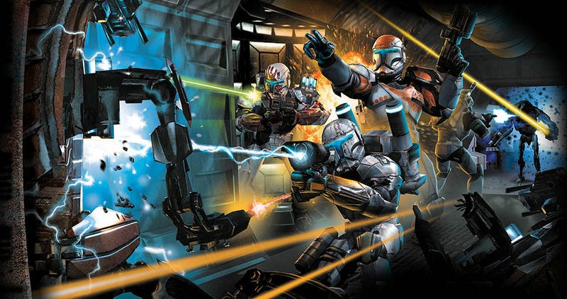 Illustration for article titled Both Of Republic Commando's Sequel Pitches Sounded Awesome