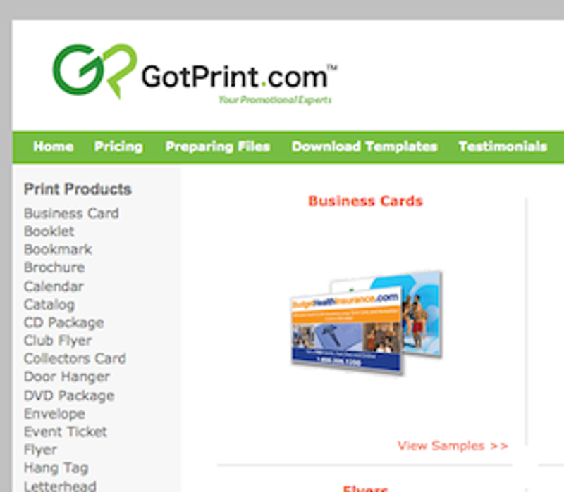 Five Best Business Card Printing Sites - Print at home business card template