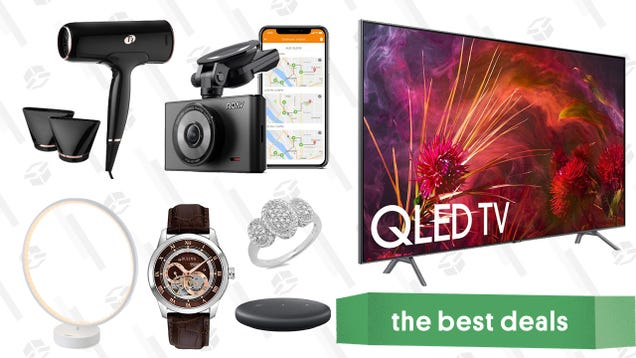 Thursday s Best Deals: Weighted Blankets, Samsung QLED TVs, T3 Hair Dryers, and More