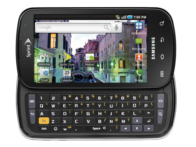 Illustration for article titled Sprint Epic 4G Android Slider Phone Engages on August 31 for $250
