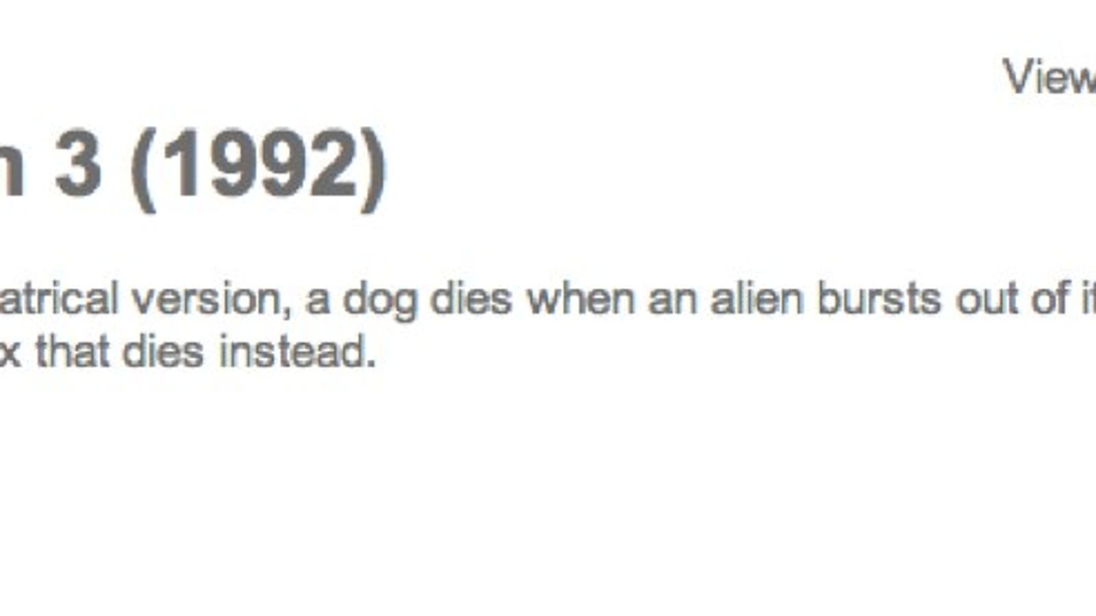 Does The Dog Die? A Movie website that asks the IMPORTANT