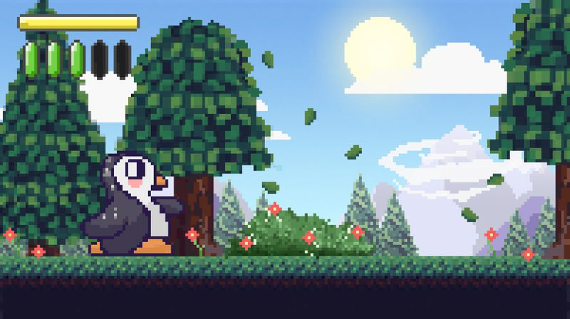 Illustration for article titled Everyone Must Play This Amazing New Indie Game That Probably Exists About A Lonely Penguin That Inherited His Family's House Or Some Shit