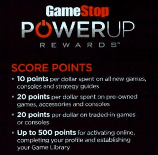 Illustration for article titled GameStop Gives Better Rewards To Used-Game Purchasers