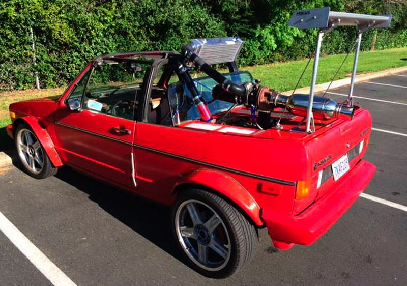 For 3 500 Could This Crazy 1979 Vw Rabbit Cabriolet Make Everything Okay