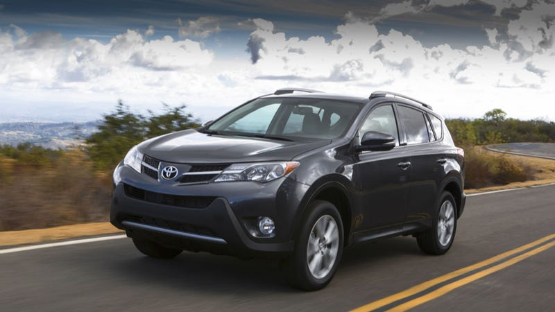 Illustration for article titled The 2013 Toyota RAV4 Rated 'Poor' In A New Safety Test