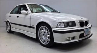 Illustration for article titled For $14,999, This 1997 BMW M3 Could Be Your White Knight