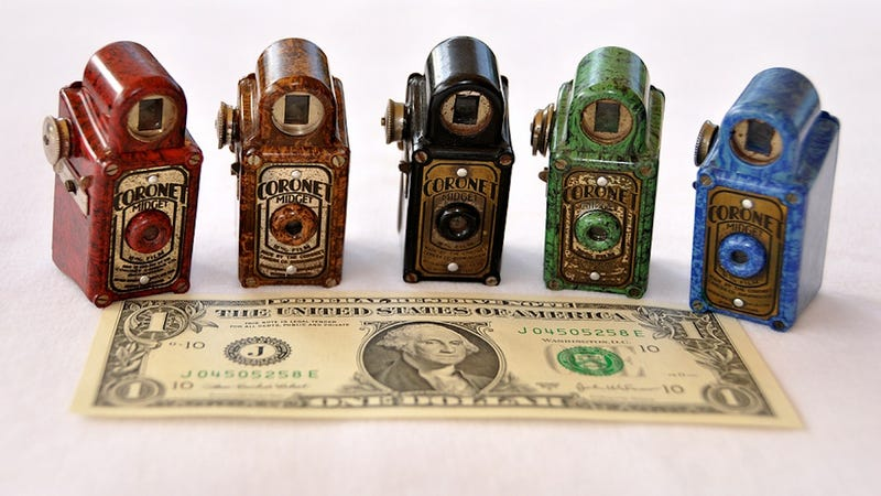 Illustration for article titled These Miniature Spy Cameras Could Make You The Perfect James Bond