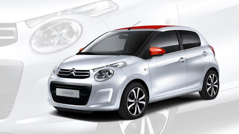 Illustration for article titled Well If The New 2015 Citroën C1 Isn't The Ugliest Little Turd