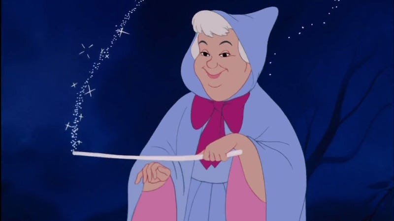 Image: The prototypical fairy mother by Disney