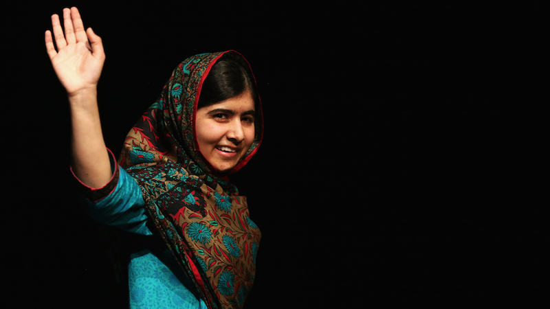 Illustration for article titled Malala Yousafzai to Display Bloodstained School Uniform In Nobel Exhibit