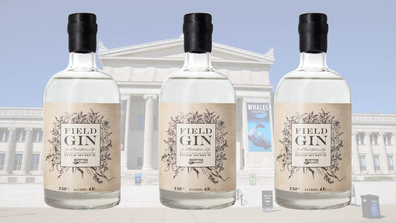 Illustration for article titled Chicago's Field Museum has released its own delightfully nerdy gin