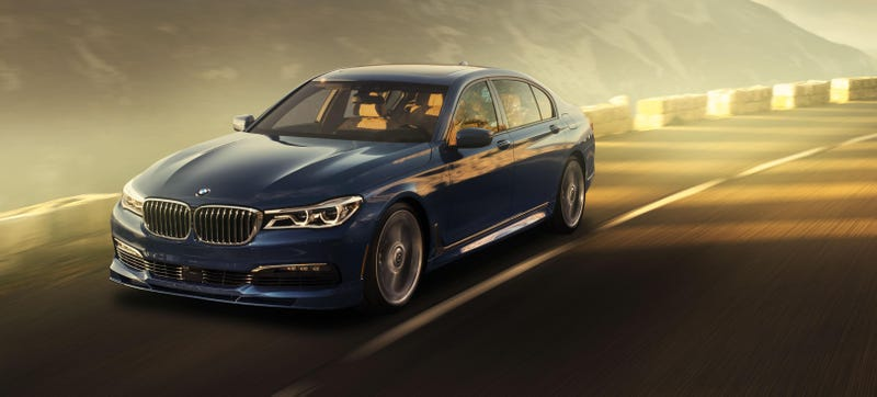 The 2017 Alpina B7 Is Your 600 Horsepower M7 BMW Doesn't Have To ...