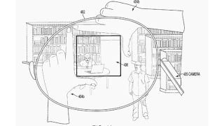 Illustration for article titled Framing Pictures With Fingers Would Be the Best Google Glass 2.0 Feature