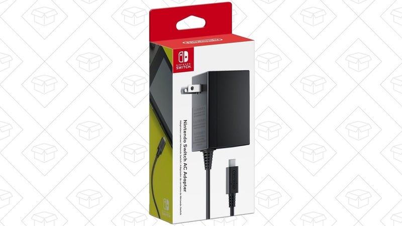 Adaptador AC para Nintendo Switch | $25 | AmazonGráfico: Shep McAllister