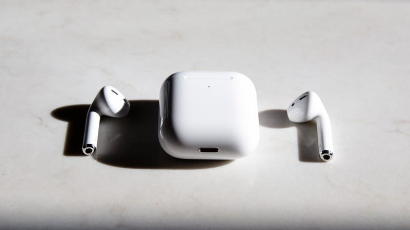 Apple AirPods 2 with Wireless Charging Case | $170 | AmazonApple AirPods 2 with Standard Charging Case | $145 | Amazon