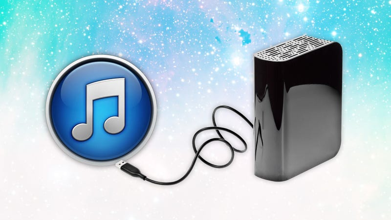Move Your iTunes Library to Another Hard Drive in Three