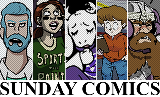 Sunday Comics: Everything Is Pain