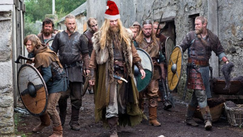Illustration for article titled Santa Claus to get his own gritty Viking origin story