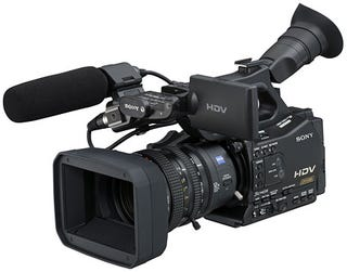 Illustration for article titled Sony's Pro HDV Camcorders Offer Hybrid Tape and Solid-State Recording