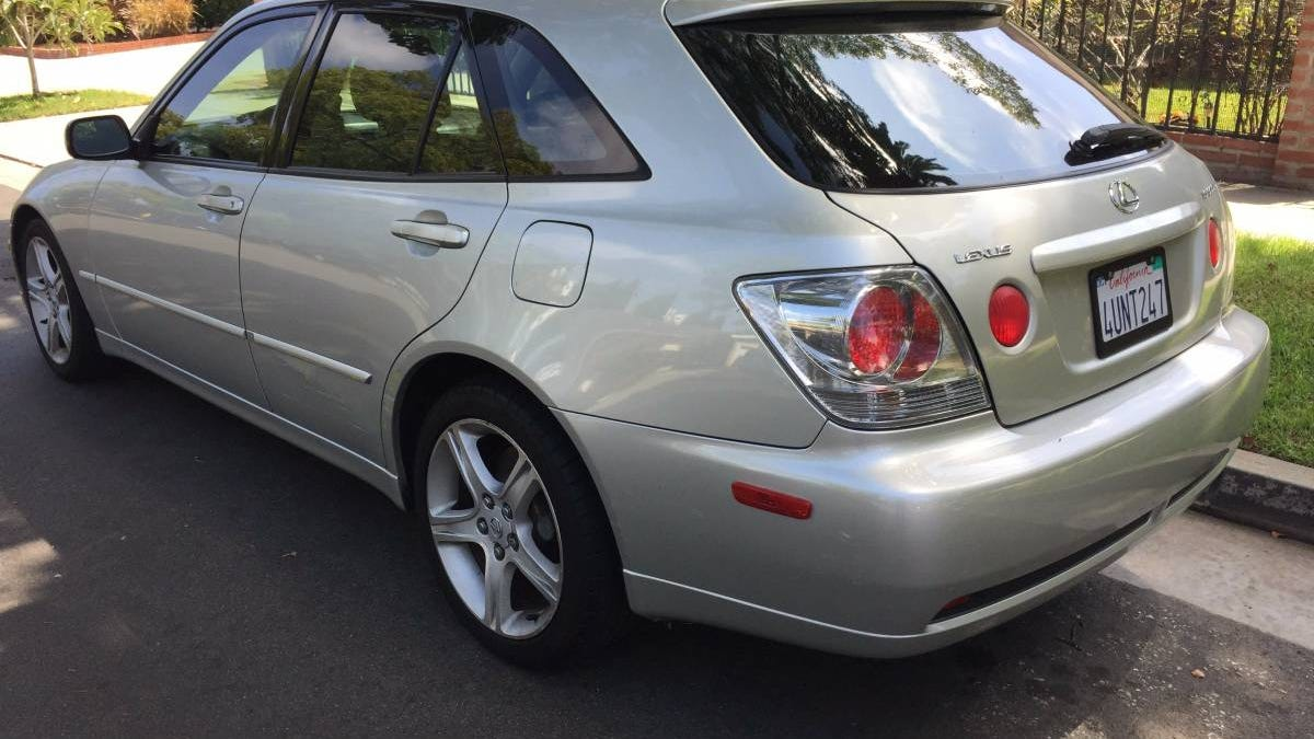 for 6 999 could this 2002 lexus is300 sportcross be your next nexus