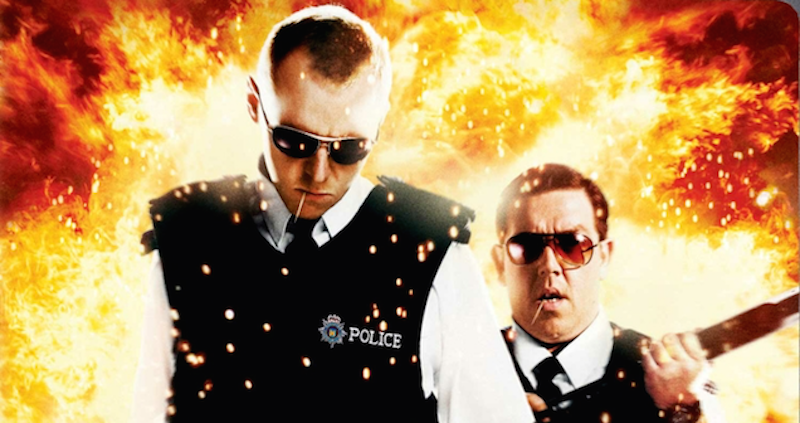 Illustration for article titled Hot Fuzz Is A God Damned Masterpiece