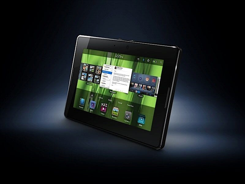 Illustration for article titled BlackBerry PlayBook Gallery