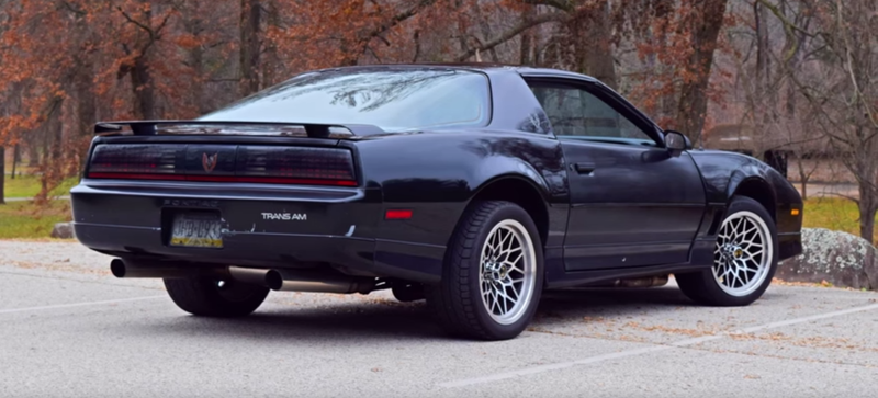 The 1985 Pontiac Firebird Trans Am Is As American As Hating Your Neighbor