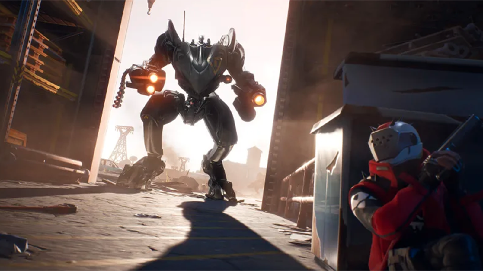 Epic Says The Mech Was Added So More Players Can Win A Fortnite Match thumbnail