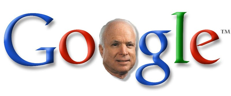 Illustration for article titled McCain Says He'll Choose Vice-President Via Google