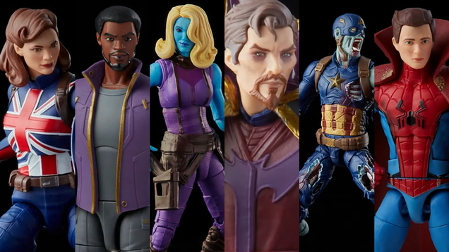What If...? s Marvel Legends Figures Are a Weird, Wonderful, and Only Slightly Decaying Delight