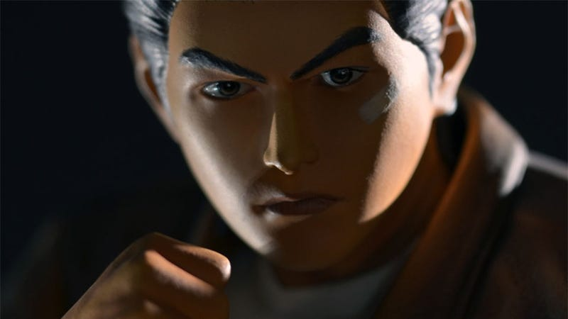 Illustration for article titled This Shenmue Statue Won't Be Looking For Sailors