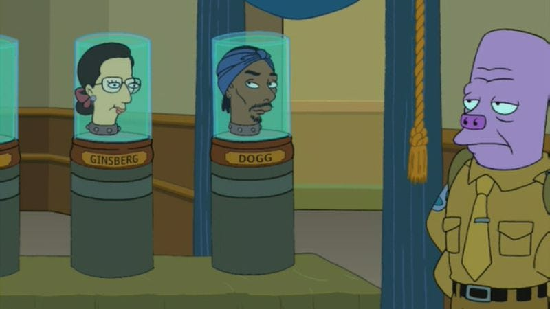 Chief Justice Snoop Dogg, from Futurama