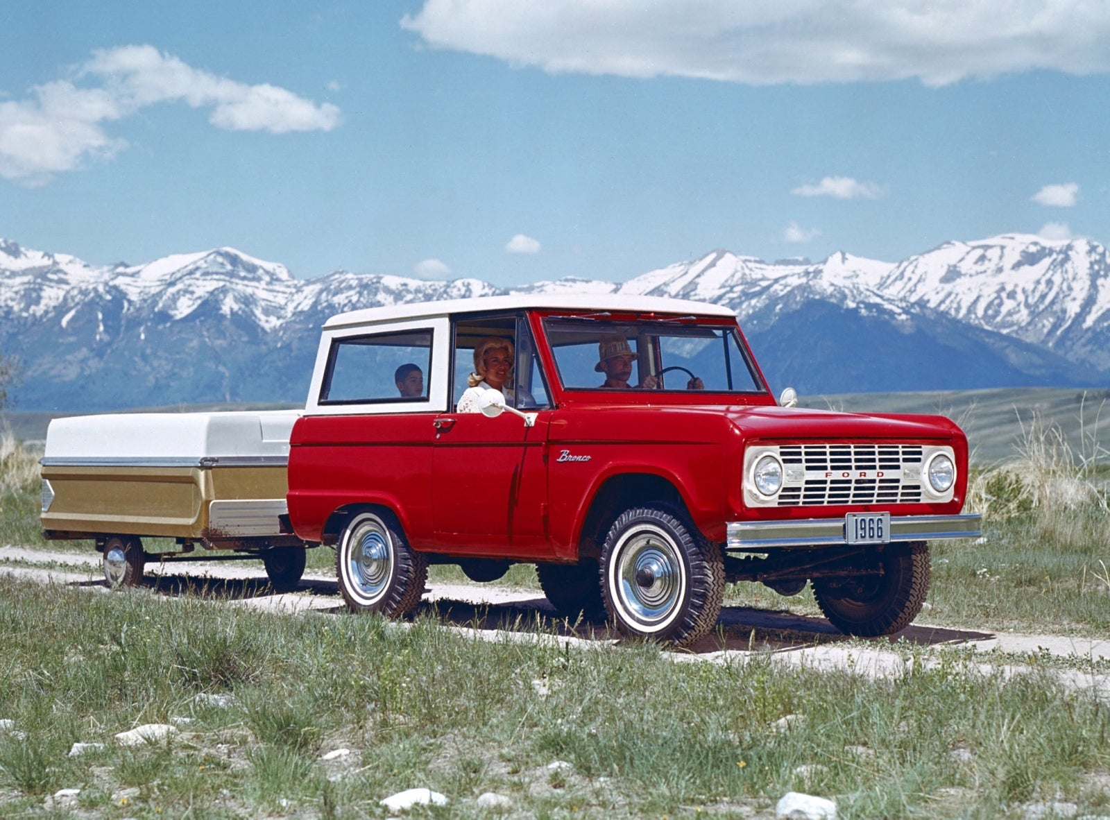 Brand New 1966 Ford Bronco Bodies Debuting At SEMA
