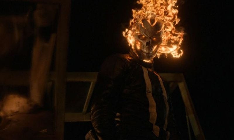 Illustration for article titled Agents of SHIELD Reveals Ghost Rider's Origin With a Hell of a Twist
