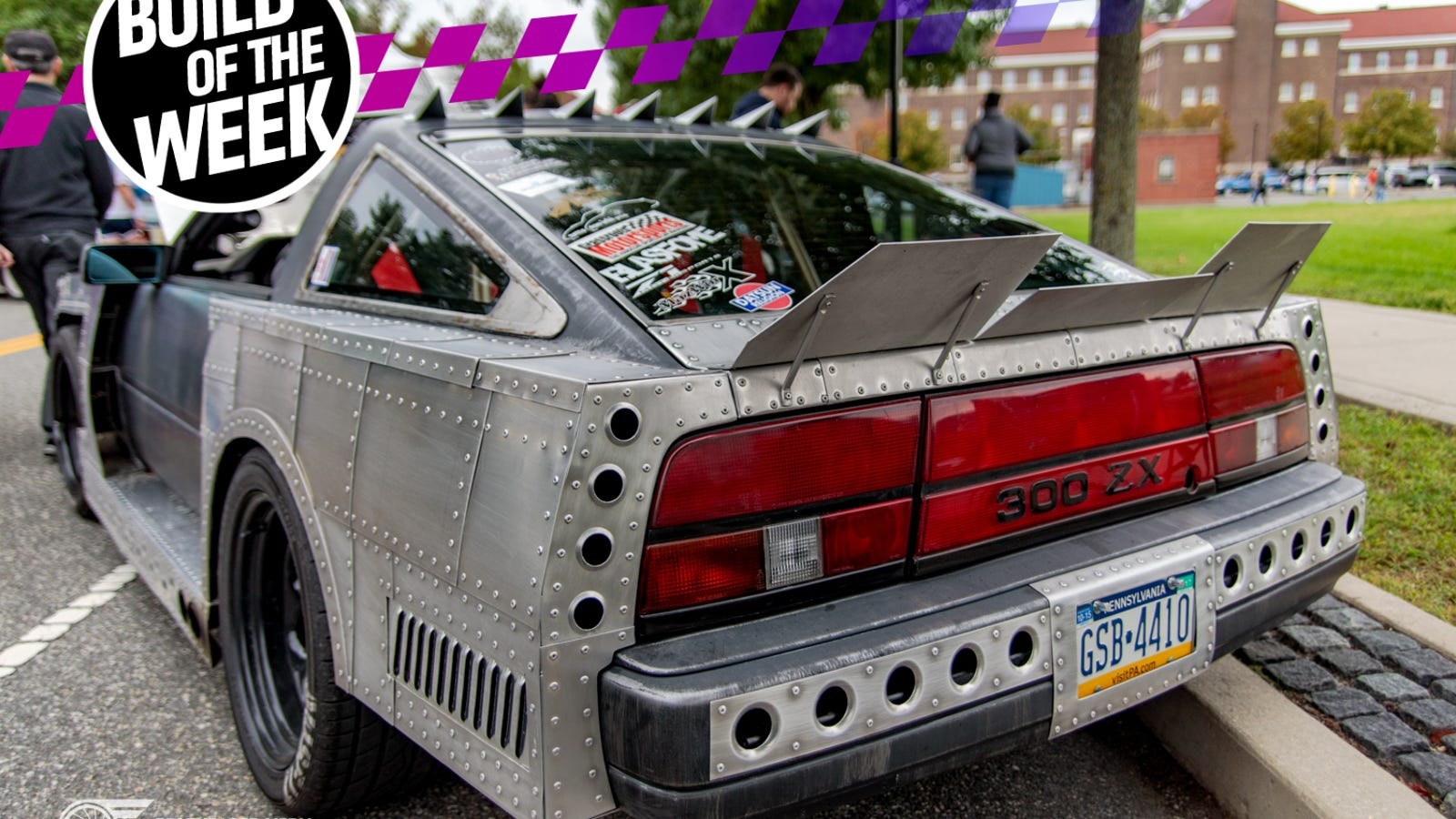 Great This Apocalypse Ready Nissan 300ZX Does Battle With An Unusual Infiniti V8  Swap