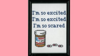 Illustration for article titled Jessie Spano Immortalized Forever In Cross Stitch