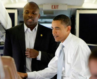 Reggie Love and President Barack ObamaSimon and Schuster