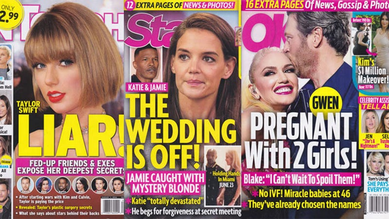This Week In Tabloids: Whiskey Dick Be Damned, Gwen and Blake Are Expecting Twin Daughters