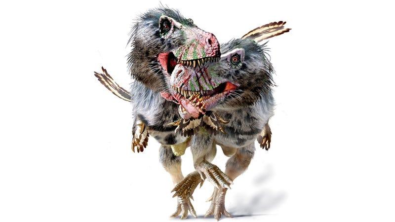 Illustration for article titled Nuevas evidencias de que los Tiranosaurios, además de violentos, eran caníbales