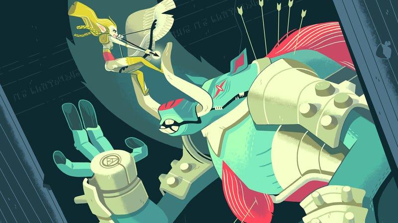 Illustration for article titled For Sale: Freakin' Amazing Nintendo Art