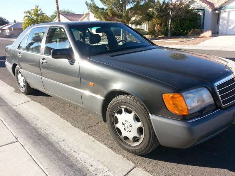 Would you pay 4 750 for this 1993 mercedes benz 600sel for Mercedes benz employee salary