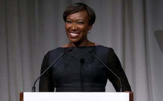 Joy Reid speaks at the 2014 Women's Media Awards at Capitale Oct. 29, 2014, in New York City.Jemal Countess/Getty Images for the Women's Media Center