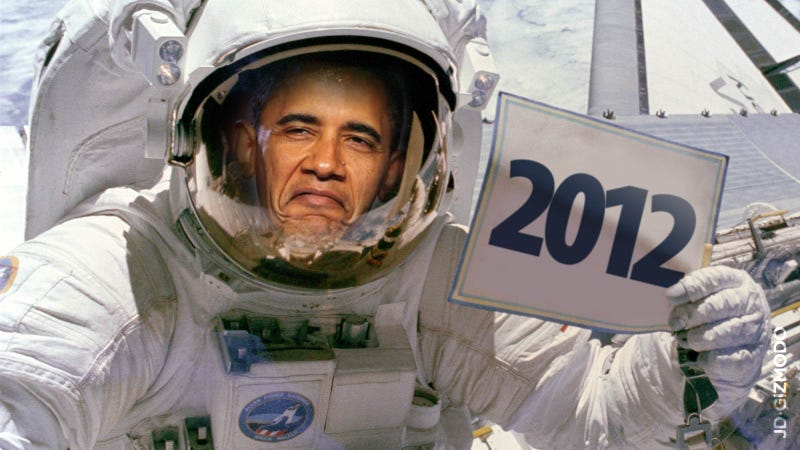 Illustration for article titled This Is Obama's 2012 State of the Future