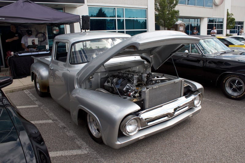 Illustration for article titled Tim Allens 1956 Ford F-100 was also there,